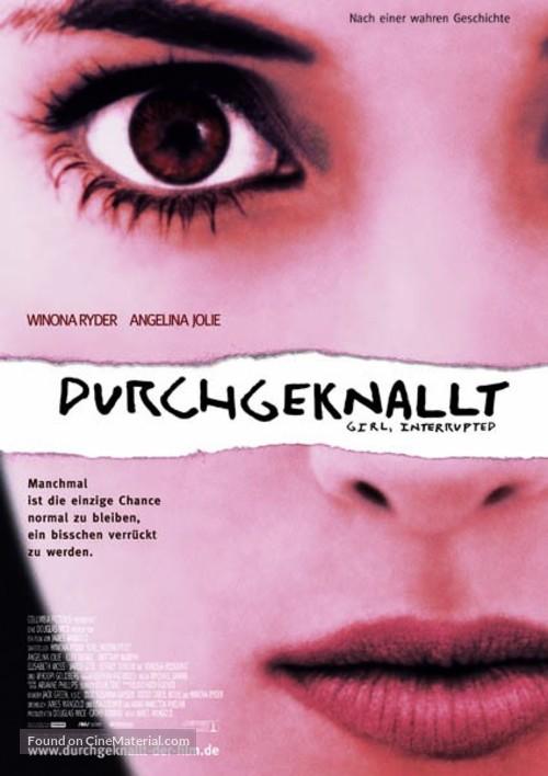 Girl, Interrupted - German Movie Poster