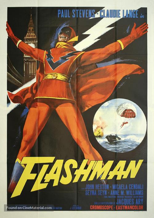 Flashman - Italian Movie Poster