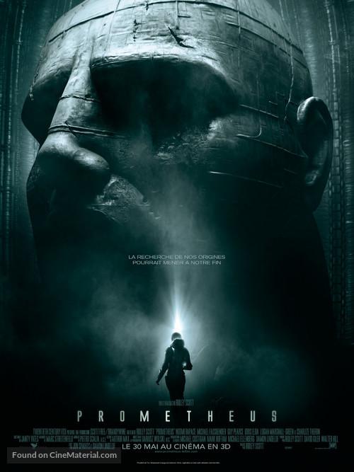 Prometheus - French Movie Poster