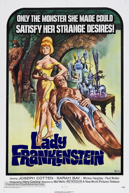 La figlia di Frankenstein - Movie Poster