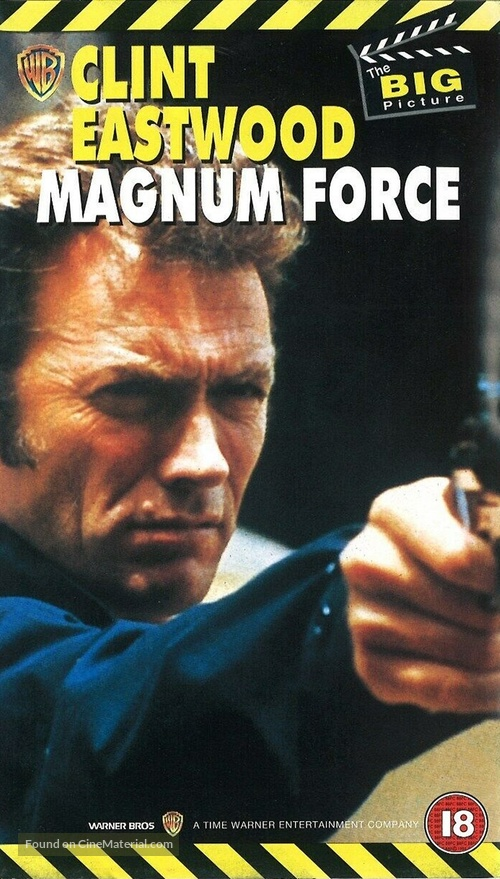 Magnum Force - British VHS movie cover