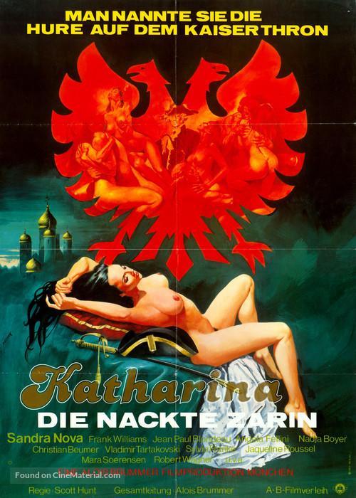 Katharina und ihre wilden Hengste, Teil 1 - Katharina, die nackte Zarin - German Movie Poster