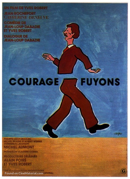 Courage fuyons - French Movie Poster