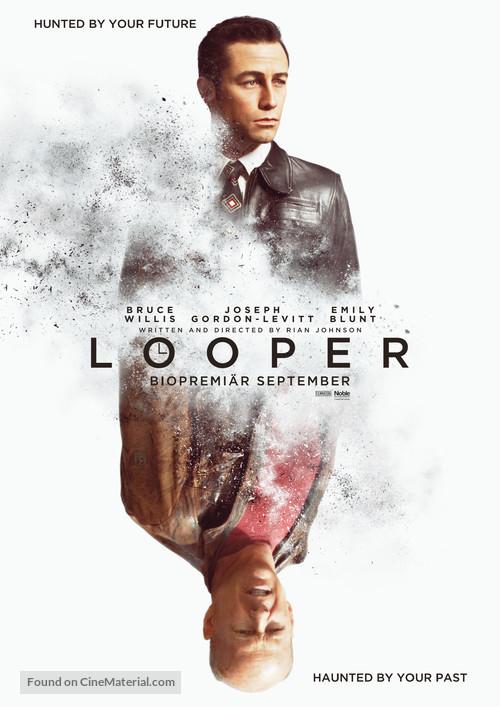 Looper - Swedish Movie Poster