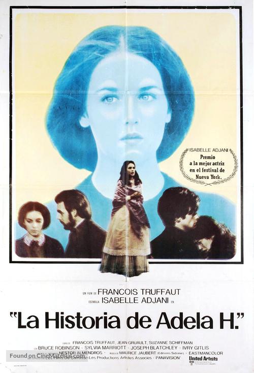 L'histoire d'Adèle H. - Argentinian Movie Poster