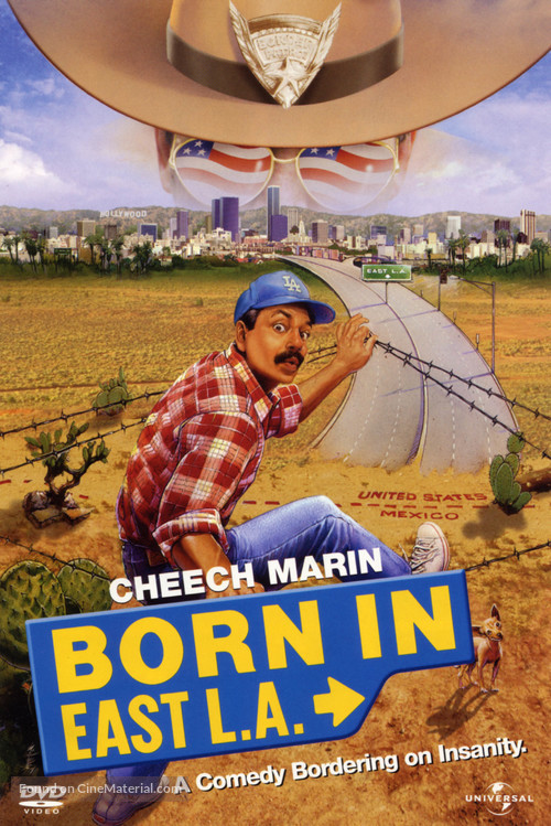Born in East L.A. - DVD cover
