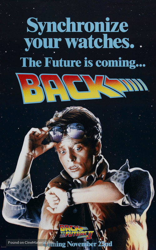 Back to the Future Part II - Advance poster