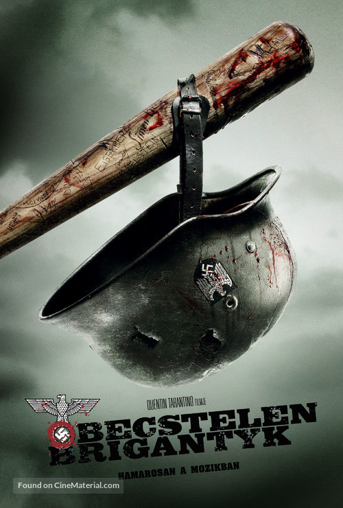 Inglourious Basterds - Hungarian Movie Poster