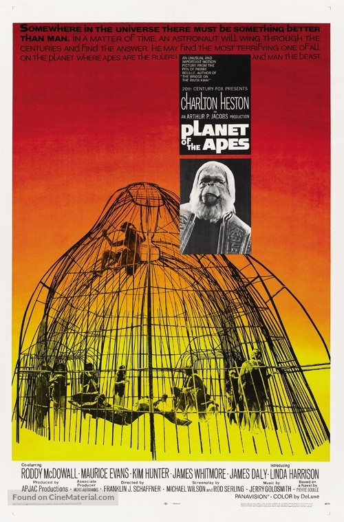 Planet of the Apes - Movie Poster