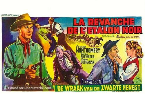 King of the Wild Stallions - Belgian Movie Poster