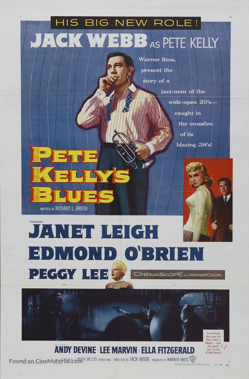 Pete Kelly's Blues - Movie Poster