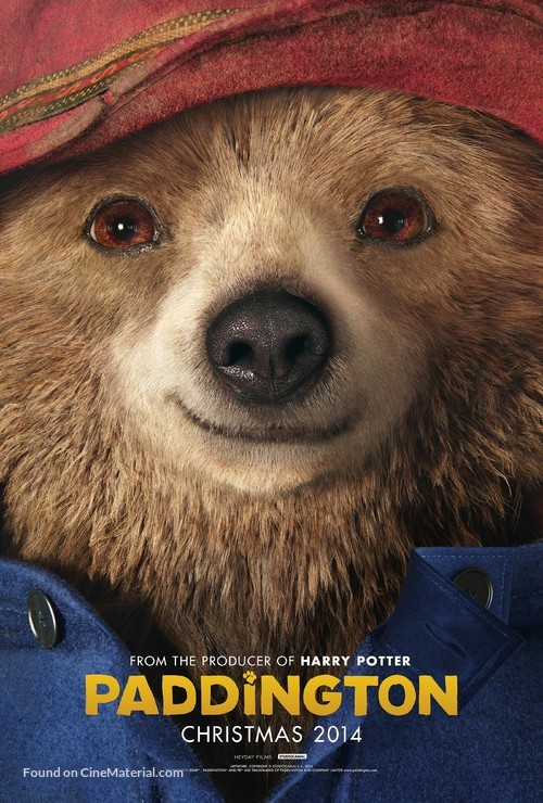 Paddington - British Movie Poster