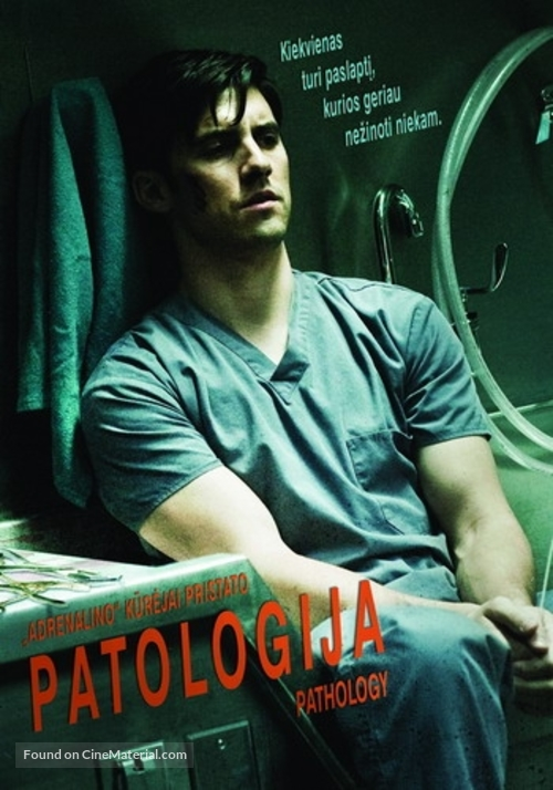 Pathology - Lithuanian Movie Poster