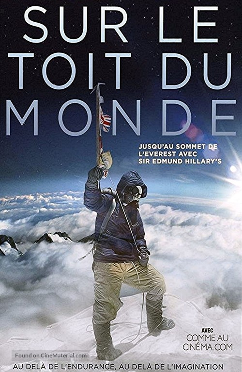 Beyond the Edge - French DVD movie cover