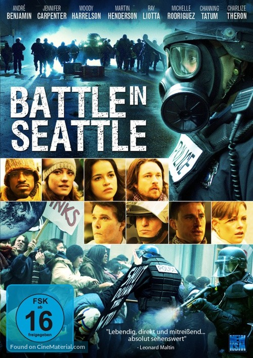 Battle in Seattle - German DVD cover