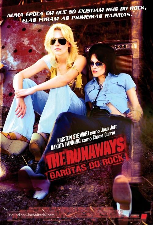 The Runaways - Brazilian Movie Poster