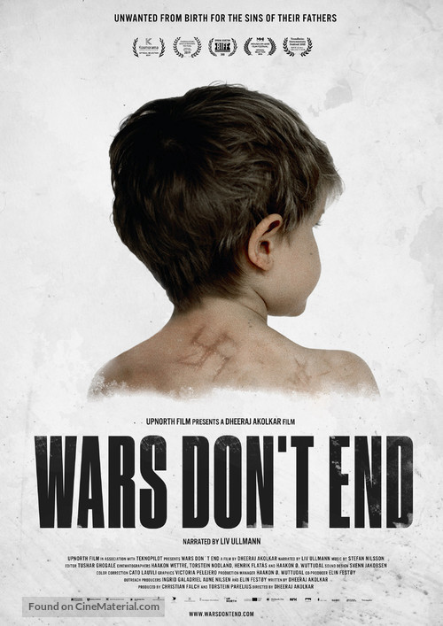 Wars Don't End - Norwegian Movie Poster