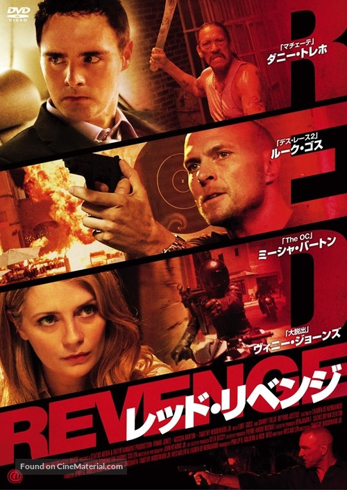 Beyond Justice - Japanese DVD cover
