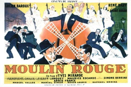 Moulin Rouge - French Movie Poster