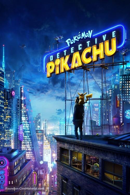 Pokémon: Detective Pikachu - Video on demand movie cover