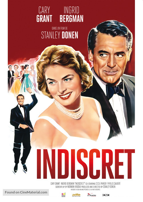 Indiscreet - French Re-release movie poster