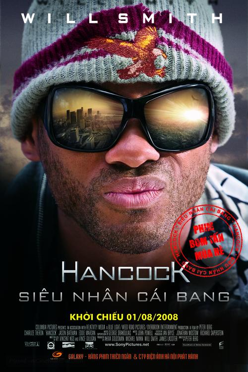 Hancock - Vietnamese Movie Poster