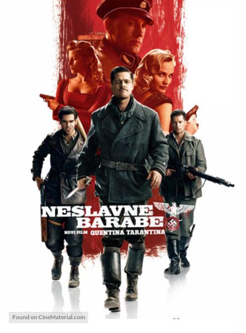 Inglourious Basterds - Slovenian Movie Poster