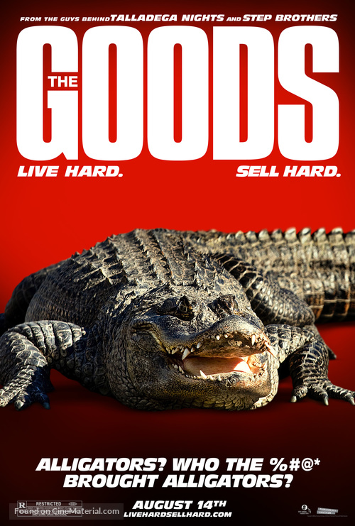 The Goods: Live Hard, Sell Hard - Movie Poster