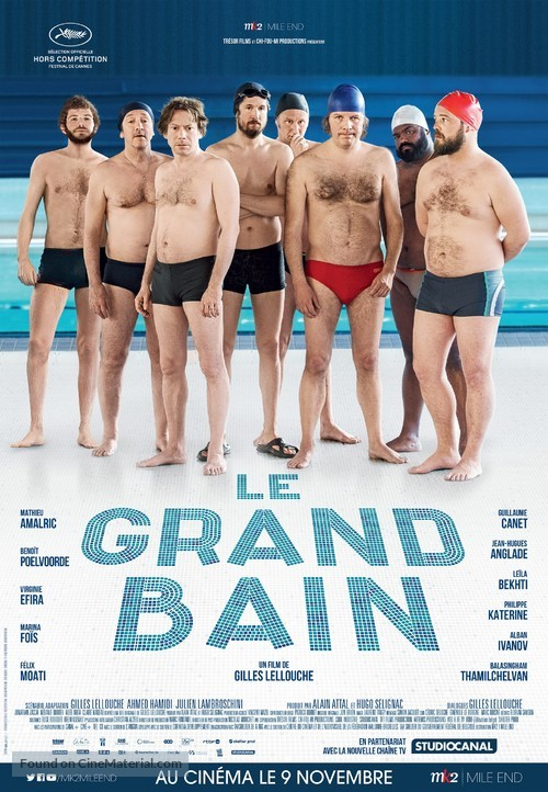 Le grand bain - Canadian Movie Poster
