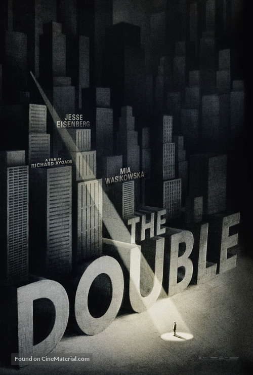 The Double - British Movie Poster