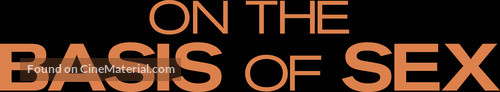 On the Basis of Sex - Logo