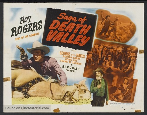Saga of Death Valley - Movie Poster