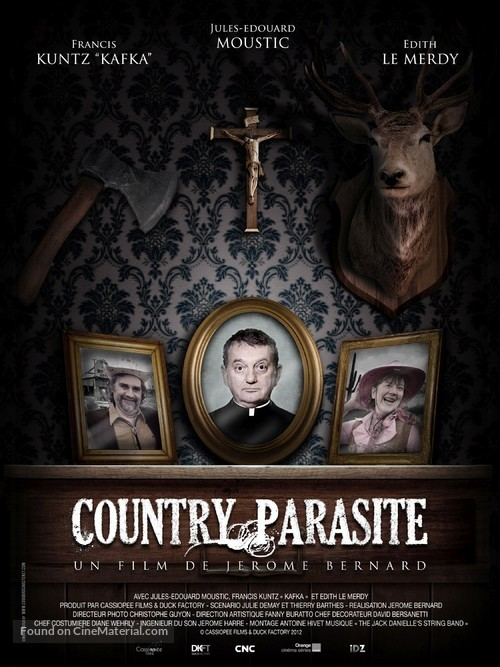 Country Parasite - French Movie Poster