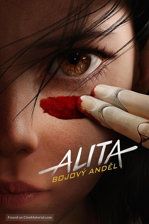 Alita: Battle Angel - Czech Movie Cover