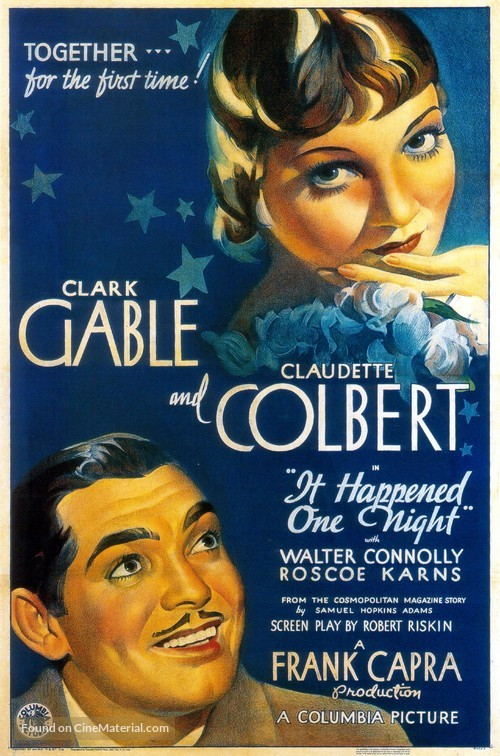 It Happened One Night - Theatrical poster