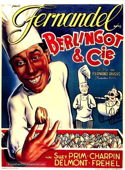 Berlingot et compagnie - Belgian Movie Poster