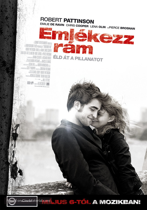 Remember Me - Hungarian Movie Poster