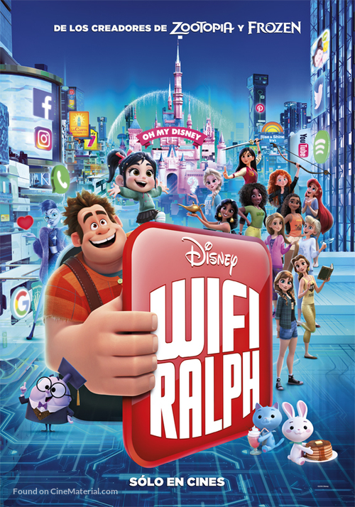 Ralph Breaks the Internet - Argentinian Movie Poster