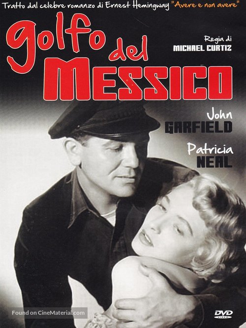 The Breaking Point - Italian DVD movie cover