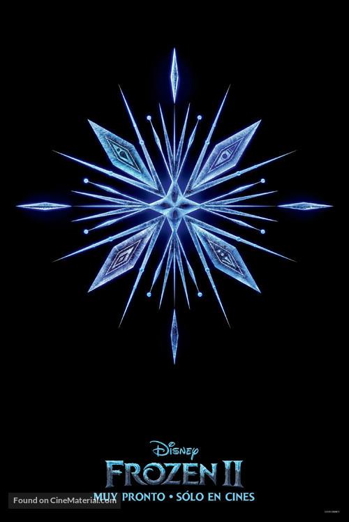 Frozen II - Argentinian Movie Poster