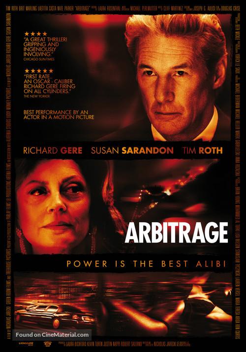 Arbitrage - Movie Poster
