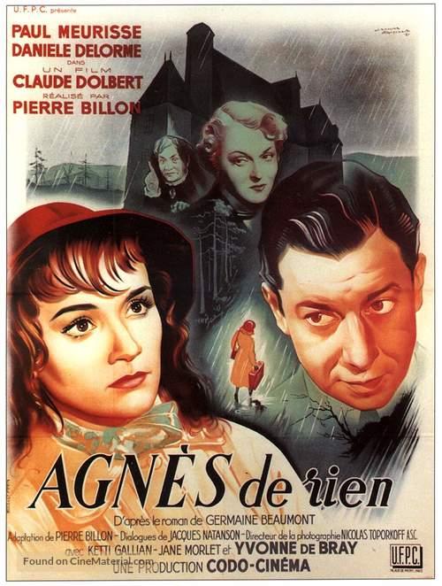 Agnès de rien - French Movie Poster