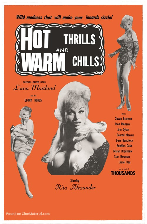 Hot Thrills and Warm Chills - Movie Poster