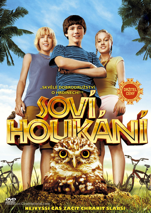 Hoot - Czech DVD cover