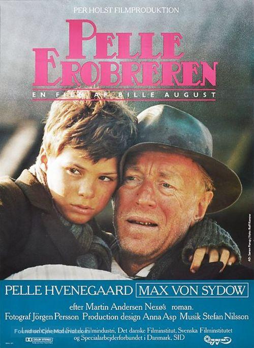 Pelle Erobreren Danish Movie Poster