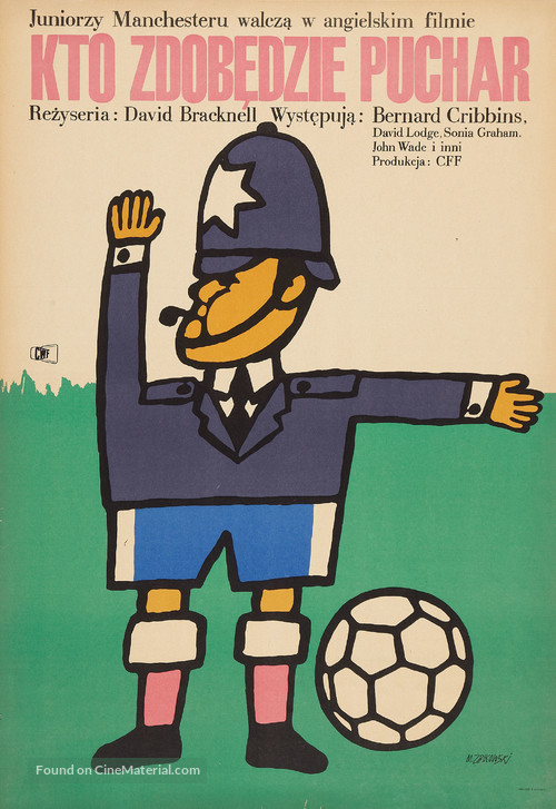 Cup Fever - Polish Movie Poster