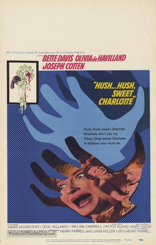 Hush... Hush, Sweet Charlotte - Movie Poster