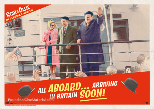 Stan & Ollie - British Movie Poster