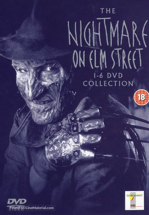 A Nightmare On Elm Street - British Movie Cover