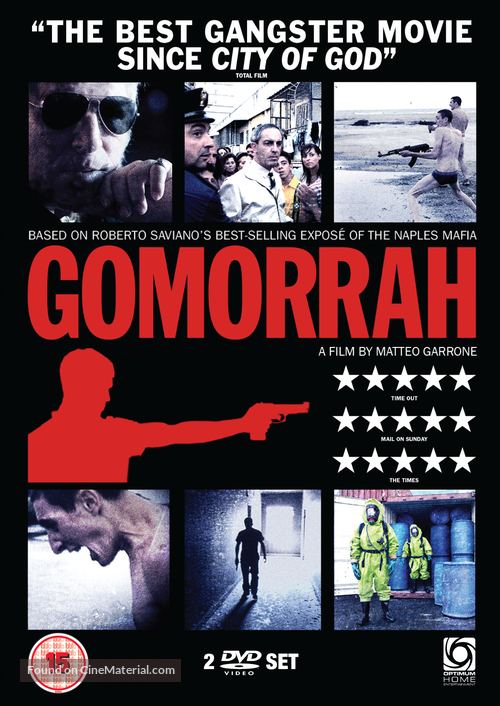 Gomorra - British Movie Cover